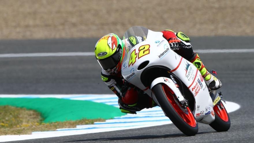 Marcos Ramírez, el piloto mundialista de Moto 3 de Conil de la Frontera