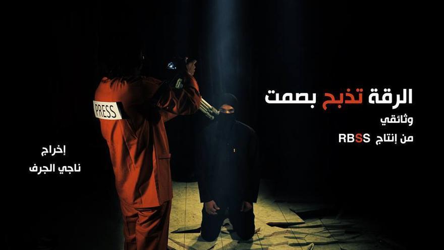 Representación elaborada por el grupo RBSS contra el ISIS