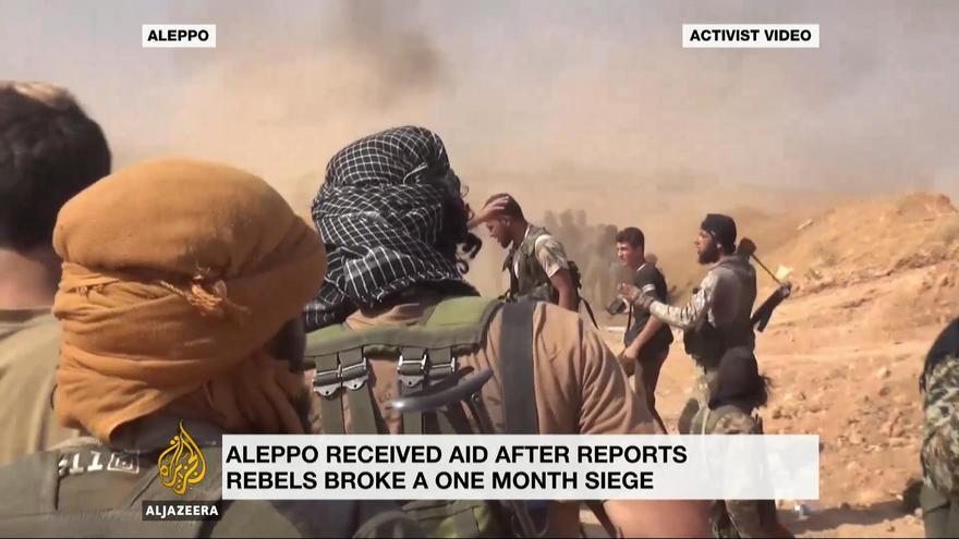 Al Jazeera ha recibido muchas críticas por su cobertura de la guerra siria, que ha sido claramente favorable a los grupos insurgentes.