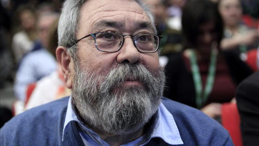Méndez pide a UGT en Andalucía que asuma responsabilidades y dé un paso adelante