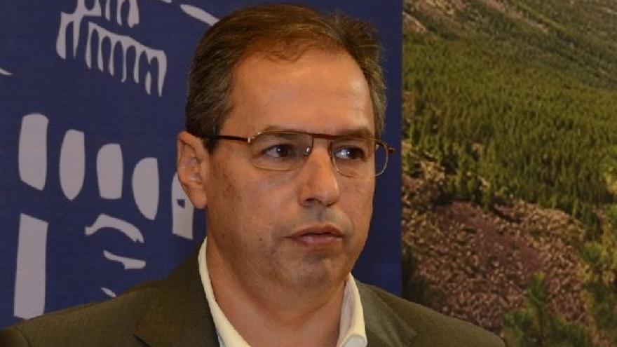 El consejero de Carreteras del Cabildo de Tenerife, José Luis Delgado.