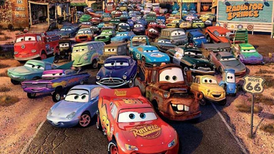 El cine de FDF alcanza el podio de la TDT con 'Cars' (3.1%)
