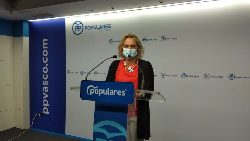Raquel González, presidenta del PP de Bizkaia.