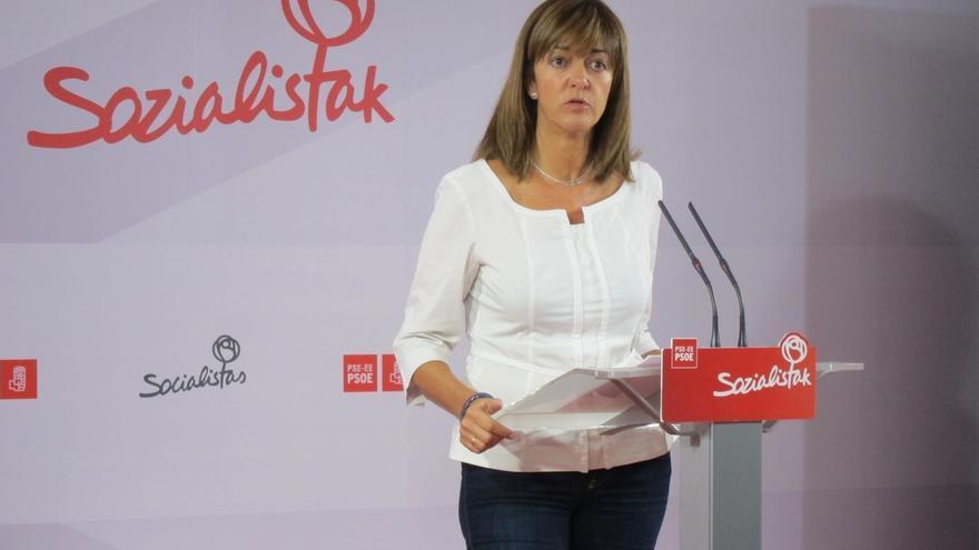 """Mendia, """"estupefacta"""" ante """"el espentento"""" de que en Cataluña se priorice """"la bronca al bienestar y el grito al diálogo"""""""