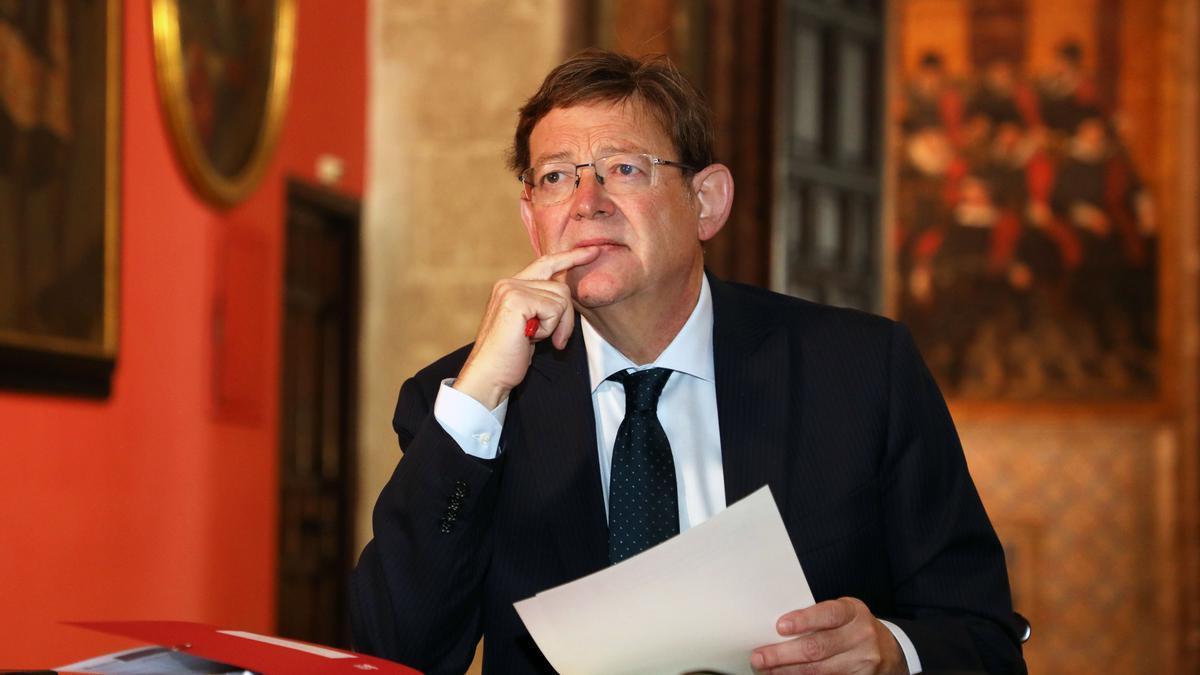 Ximo Puig en una Conferència de Presidents en una imatge d'arxiu.