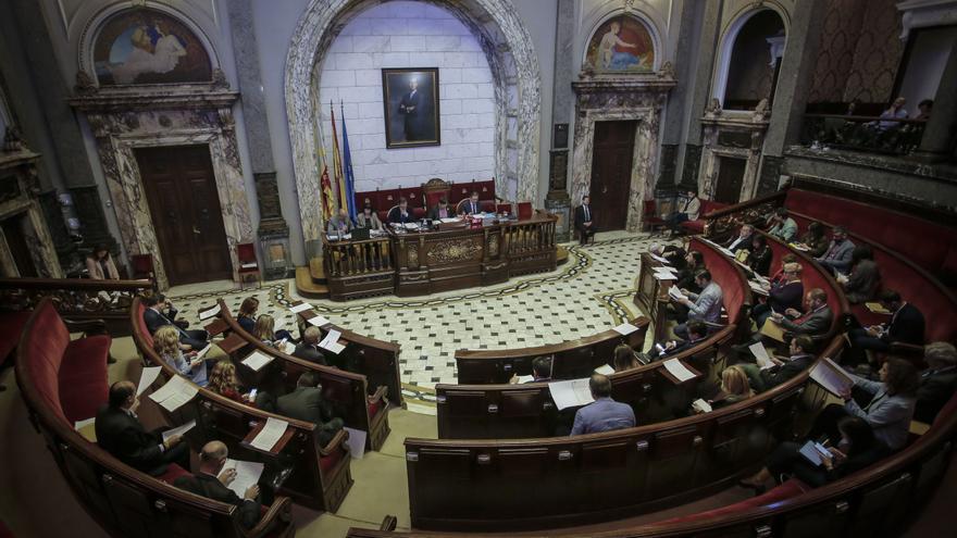 El pleno del Ayuntamiento de València