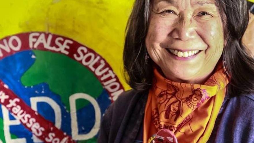 Pam Tau Lee, una trabajadora social jubilada de San Francisco, en su foto de Facebook.