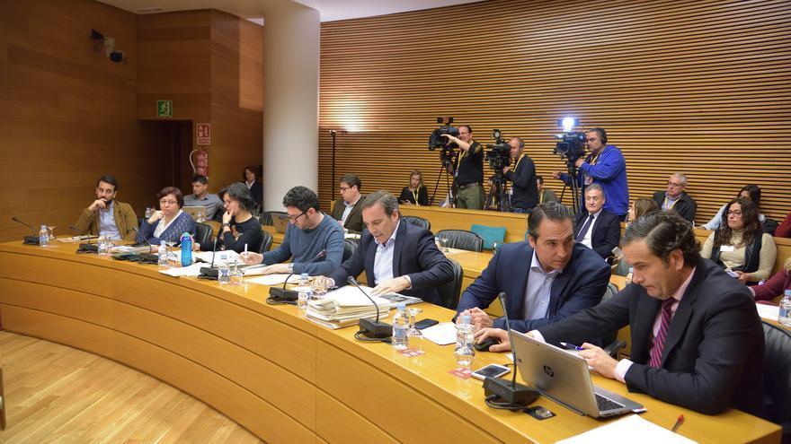 Los diputados que investigan los sobrecostes y la gestión de Feria Valencia