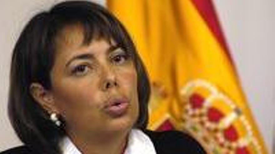 Carolina Déniz, viceconsejera de Justicia del Gobierno de Canarias.