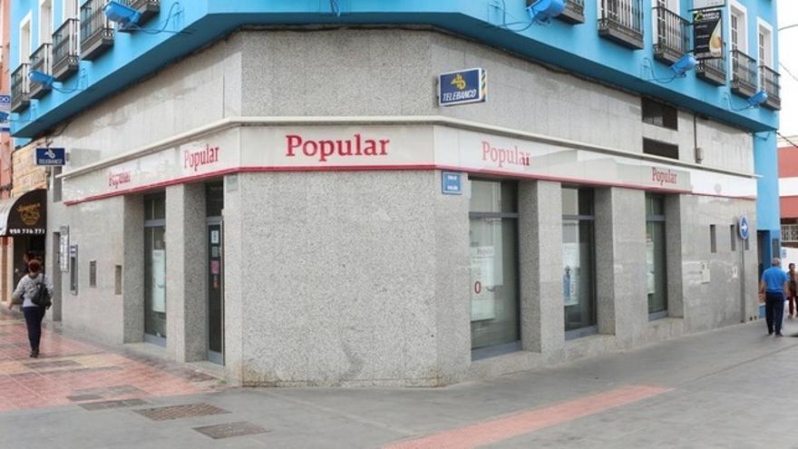 Sucursal del Banco Popular en Vecindario