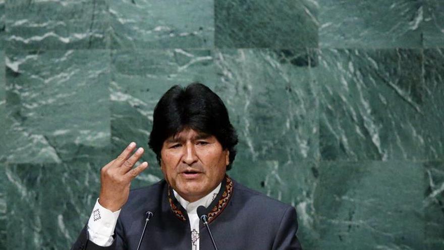 """Morales va a Venezuela para solidarizarse con Maduro ante """"agresión imperial"""""""