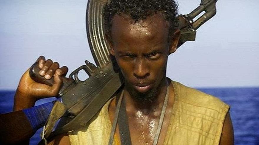 Barkhad Abdi en Capitán Phillips