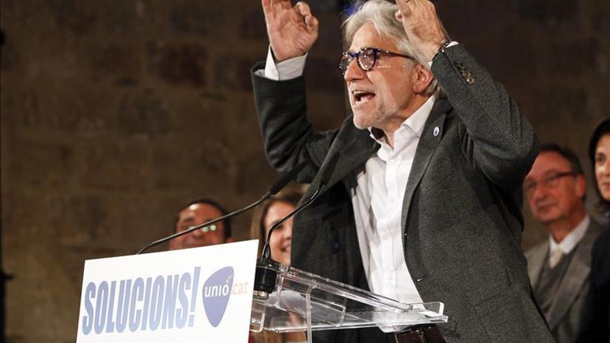 """Unió pide a CDC que """"respete"""" a la CUP o pacte con el PSC en el Parlament"""