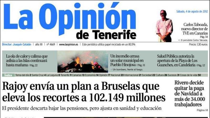 De las portadas del día (4/08/2012) #5