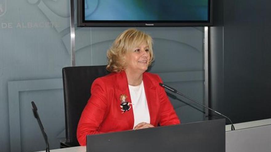Carmen Bayod, alcaldesa de Albacete / Foto: Europa Press