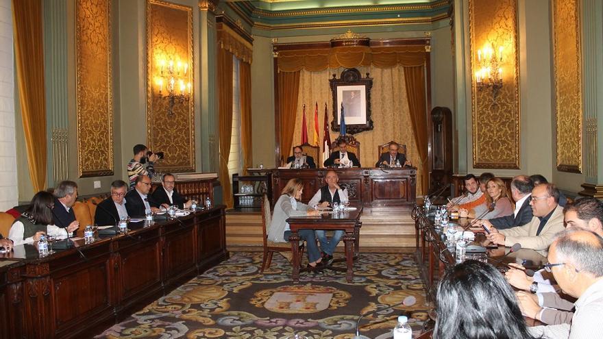Pleno en la Diputación de Albacete