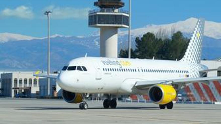 Avión de Vueling. (EUROPA PRESS)