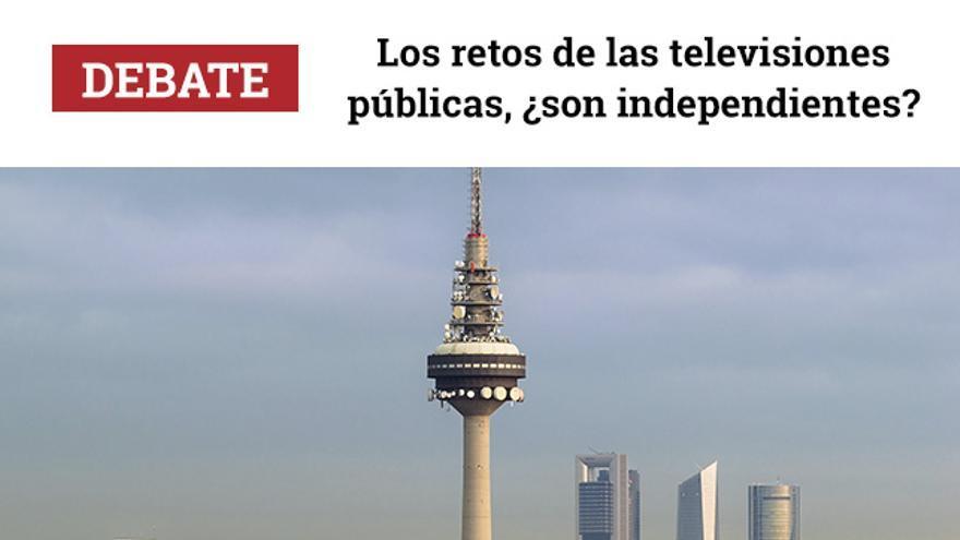 'Los retos de las televisiones públicas, ¿son independientes?'  Martes 21 noviembre a las 19 en el Teatro del Barrio
