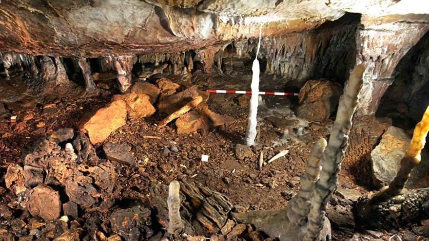 Una estalagmita de La Garma permite reconstruir la circulación atmosférica de hace 12.000 años.