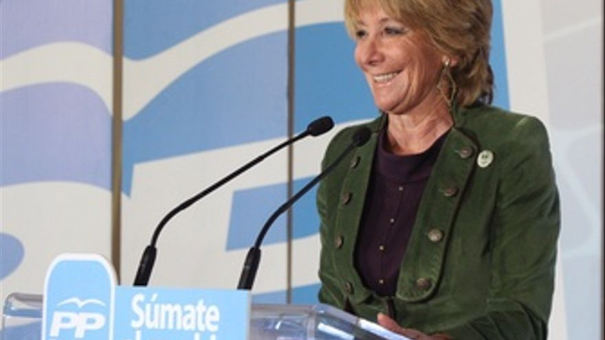 Esperanza Aguirre. (EUROPA PRESS)