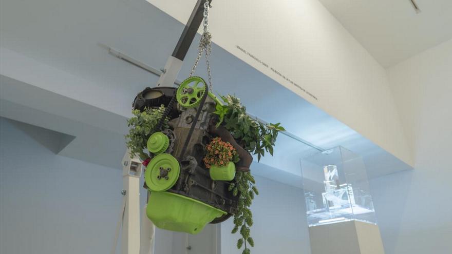 'Lo sintético', obra de Manuel Franquelo-Giner