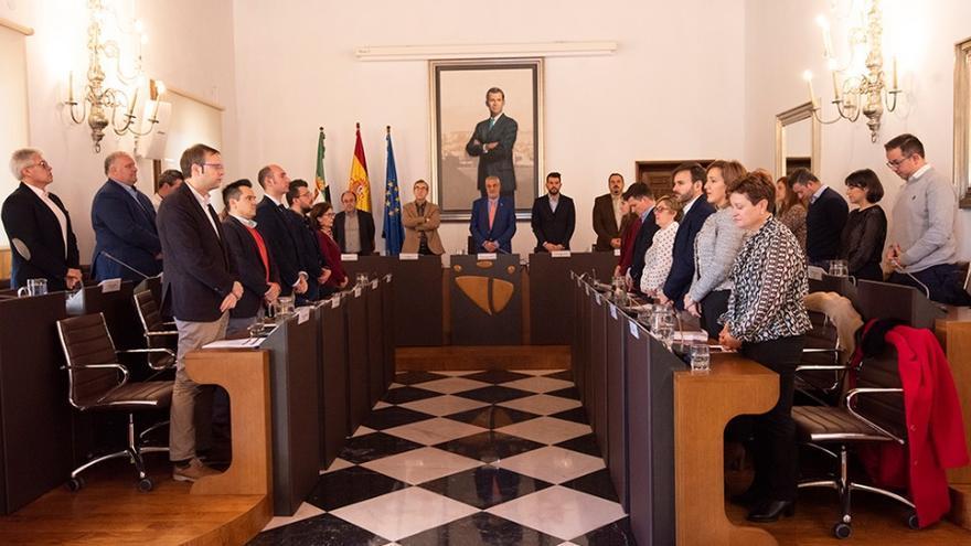 Pleno de la Diputación de Cáceres