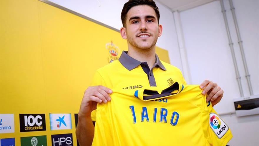 El nuevo jugador de la UD Las Palmas, Jairo Samperio.