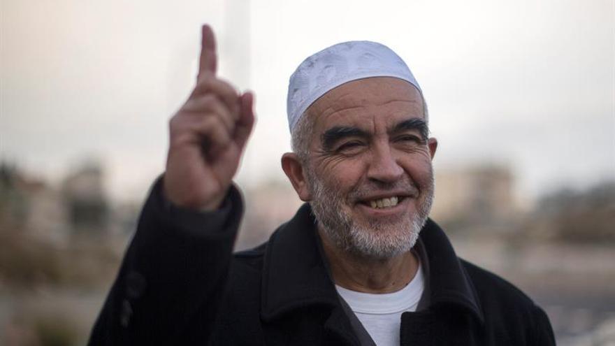Líder islamista de Israel en huelga de hambre contra las condiciones de su cautiverio