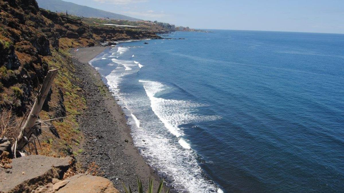Playa de Los Patos en La Orotava