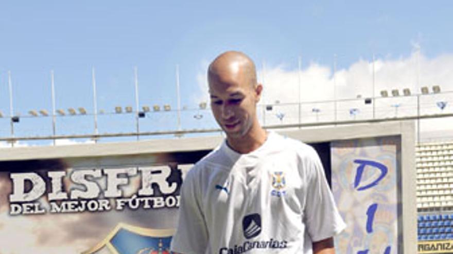 Dinei regresa a Balaídos con el CD Tenerife. (ACFI PRESS)