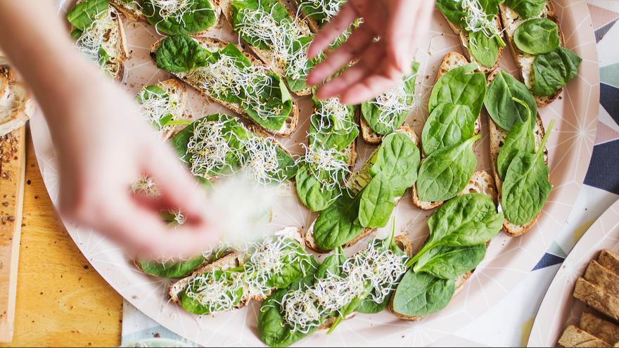 Una imagen del restaurante vegano Ratatouille, en Turín.