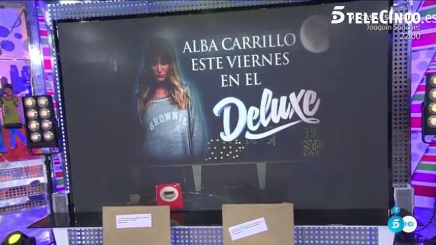 El 'Deluxe' consigue que Alba Carrillo regrese a Telecinco para dar 'su entrevista definitiva'