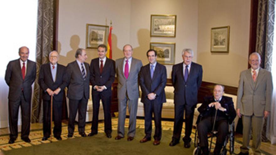 El Rey, encuentro histórico en el Congreso el día del 23-F. (EUROPA PRESS)