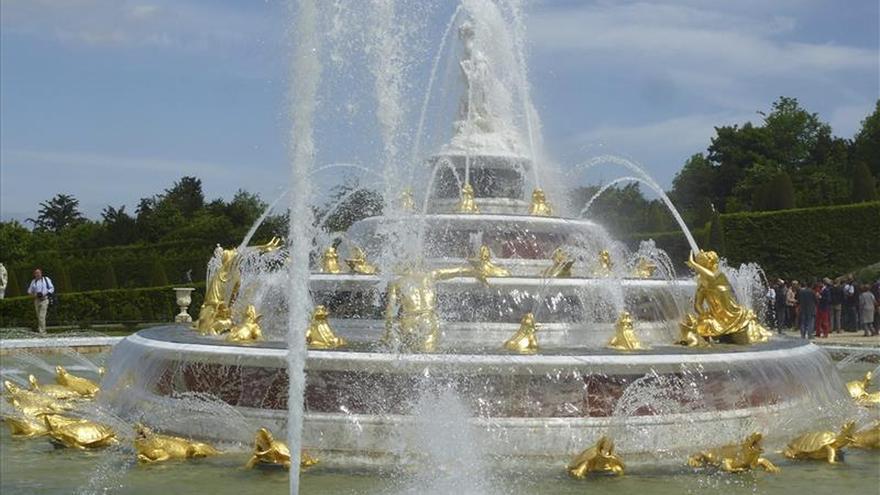 El Palacio de Versalles reestrena su estanque principal, el dedicado a Latona