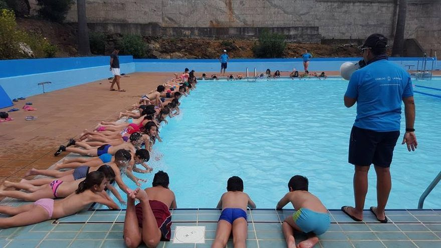 Imagen de archivo de una campus de verano. Foto: Cabildo de La Palma.