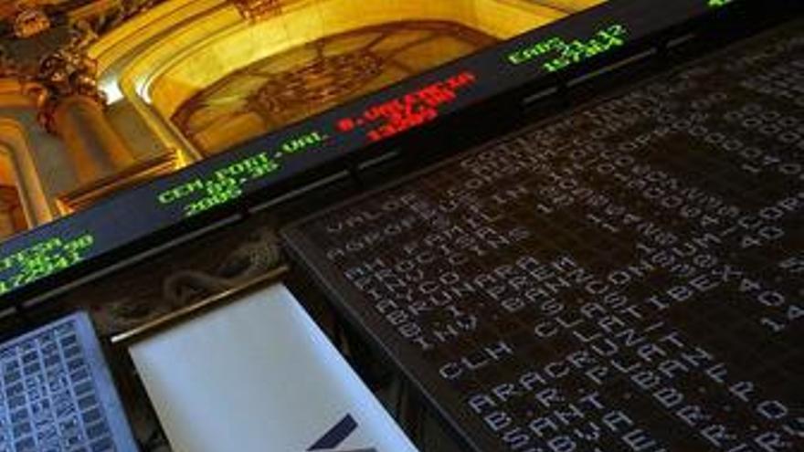 El Ibex marca un nuevo mínimo desde abril de 2009