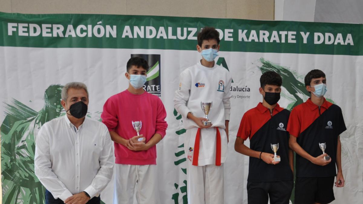 Francisco Maldonado se corona campeón de Andalucía