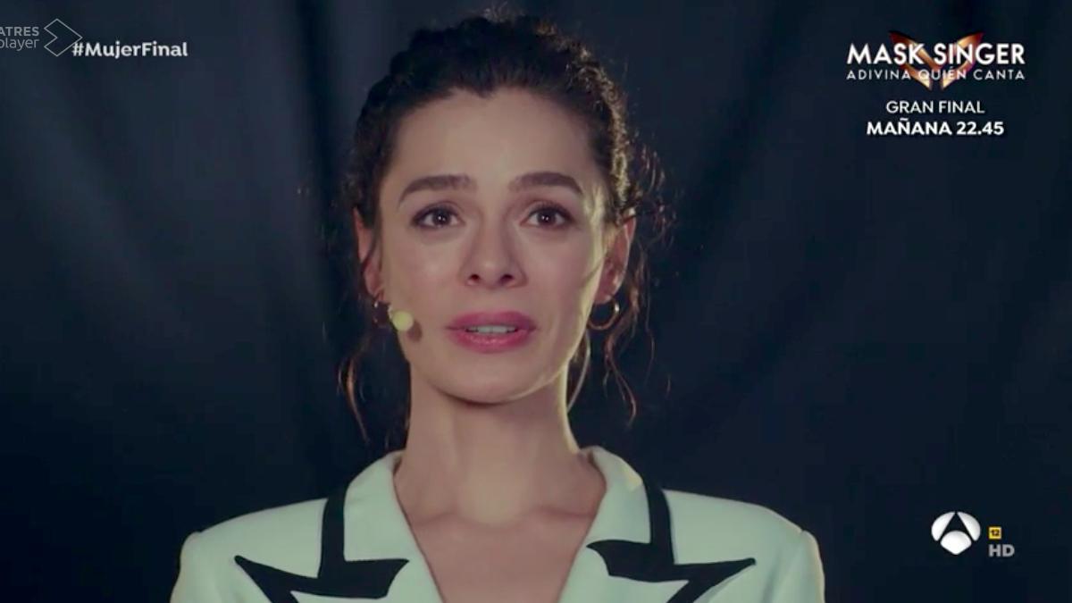 Escena final de 'Mujer' en Antena 3