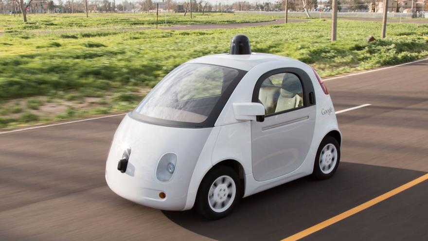 Coche autónomo de Google. /Foto: Google