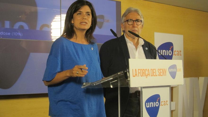 Unió cree que entrará en el Parlament y descarta valorar primeros sondeos