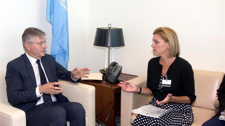 Cospedal cierra en Naciones Unidas su visita a Estados Unidos