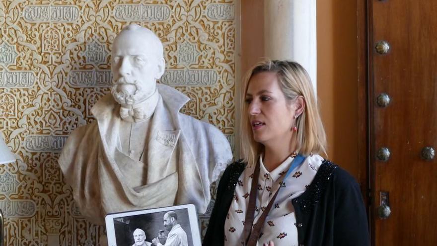 Una de las visitas guiadas de Granada Singular.