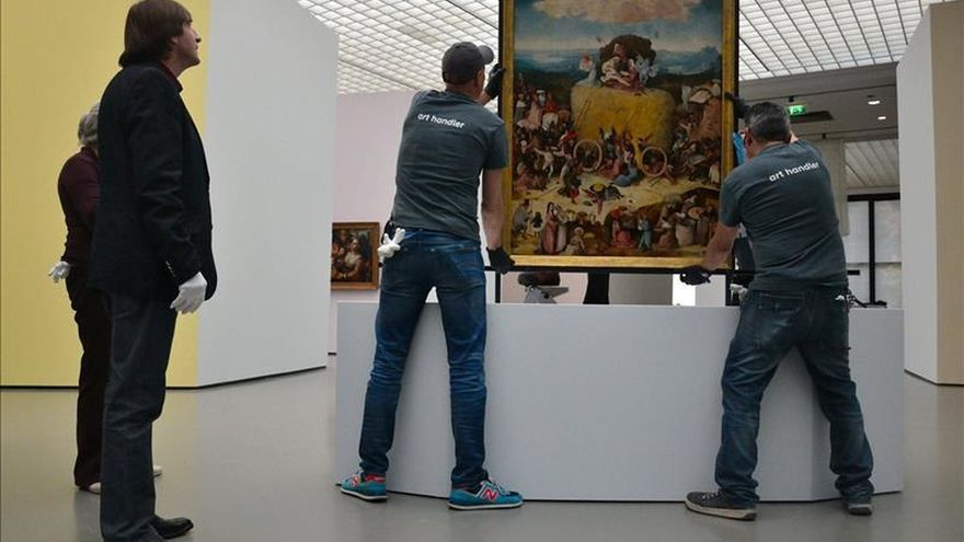 """""""El carro de heno"""" de El Bosco regresa a Holanda después de 450 años"""
