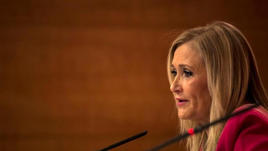 """Cifuentes: HazteOír """"trata de intervenir"""" en la campaña del PP de Madrid"""