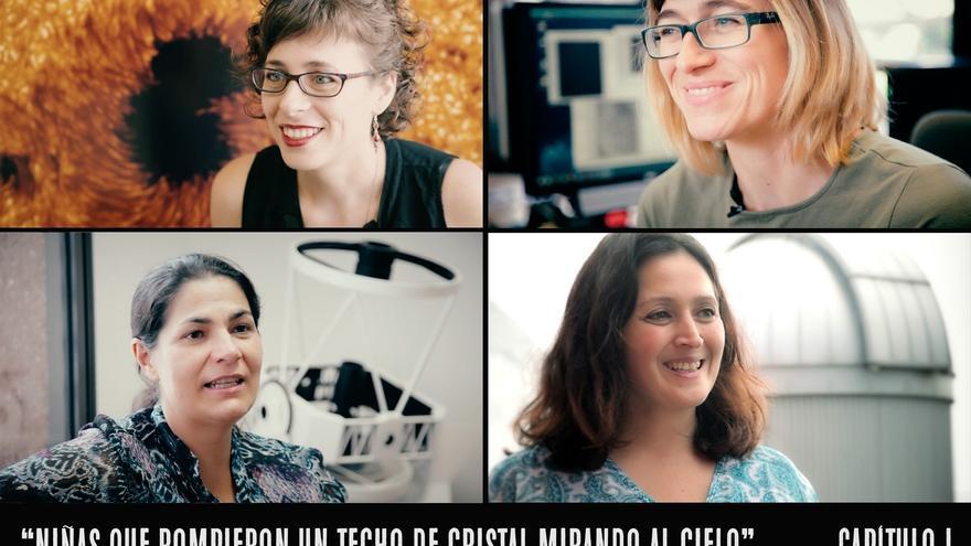 Imagen del proyecto audiovisual del IAC, del capítulo uno de la serie de vídeos