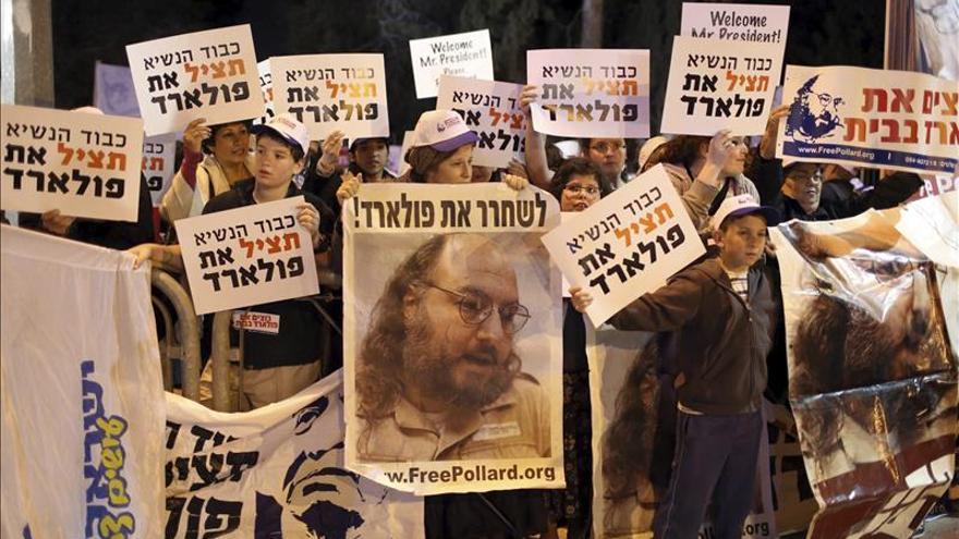 EE.UU. deja en libertad condicional al espía israelí Pollard 30 años después