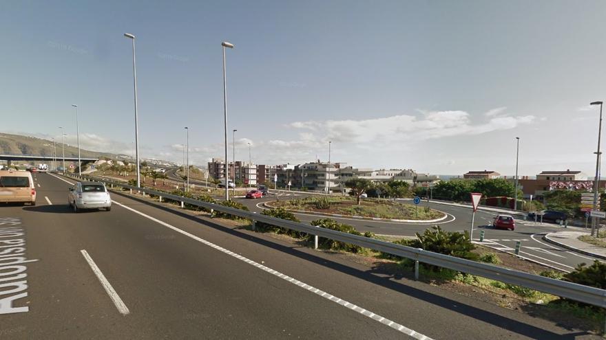 Autopista TF-1, a la altura de Candelaria