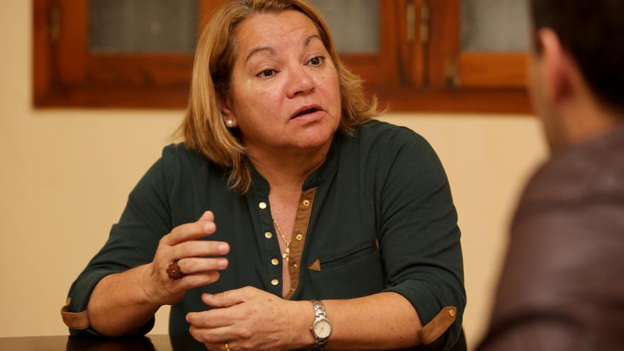 Meri Pita, secretaria general de Podemos en Canarias