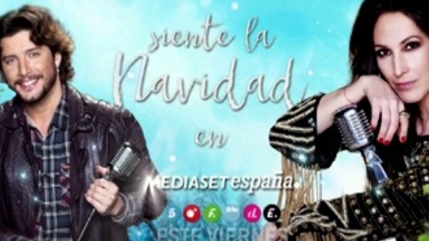 Malú y Manuel Carrasco, caras de la Navidad en Mediaset (Vídeo)