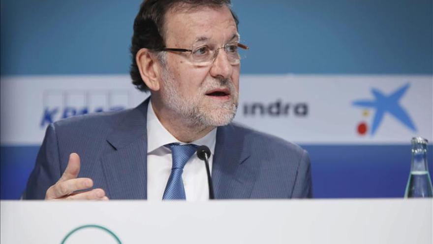 """Rajoy, convencido de que el dato de paro de mayo generará """"gran alegría"""""""